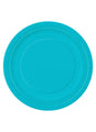 Caribbean Teal Party Plates 16pk