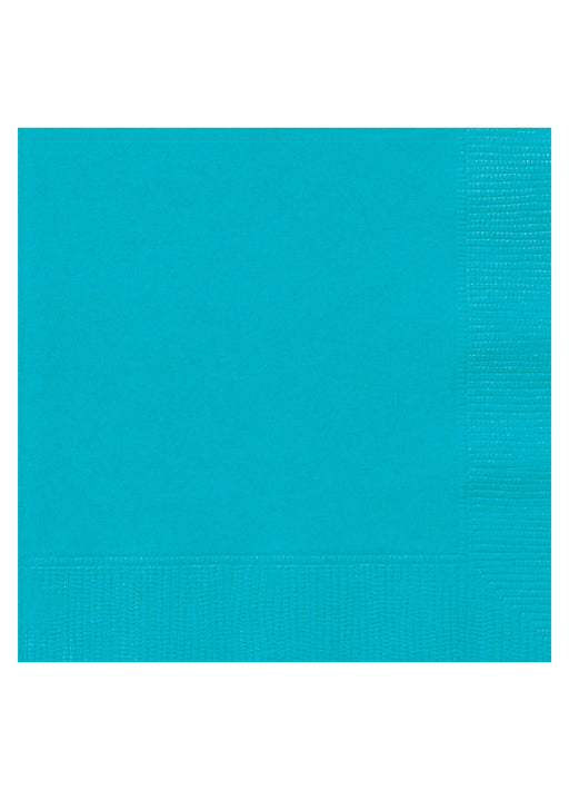Caribbean Teal Party Napkins 20pk