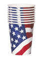 USA Flag Cups 8pk