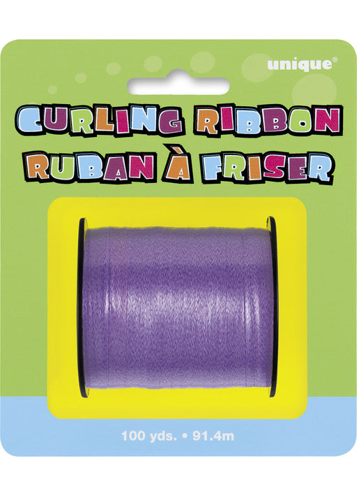 Purple Curling Ribbon (100 yds)