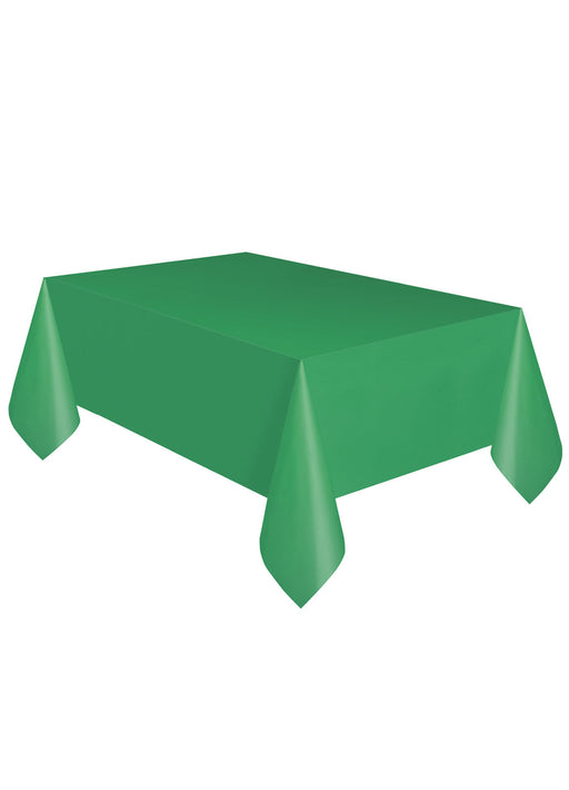 Green Party Plastic Tablecover