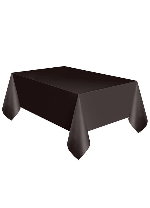 Black Party Plastic Tablecover