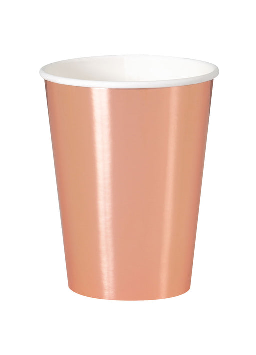 Rose Gold Cups 8pk