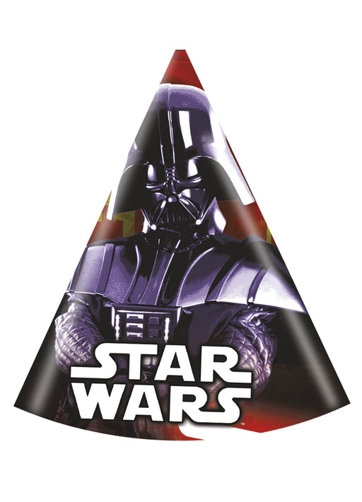 Star Wars Party Hats 6pk