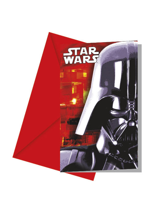 Star Wars Invitations 6pk