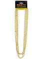 Gold Beaded Necklaces 4pk