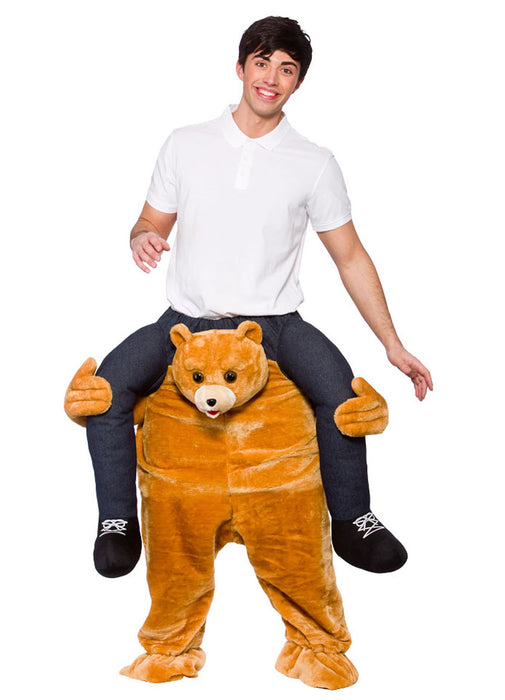 Teddy Bear Carry Me Costume Adult  sc 1 st  Party Britain & Teddy Bear Carry Me Costume Adult u2014 Party Britain
