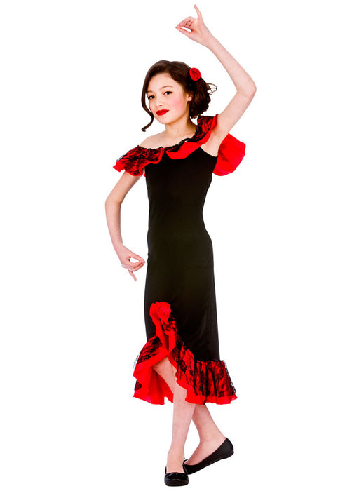 Spanish Senorita Costume Child