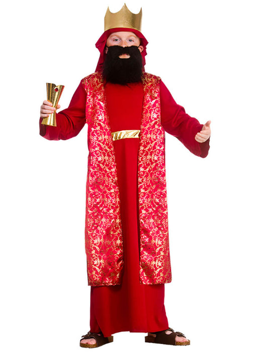 Red Wise Man Costume Child