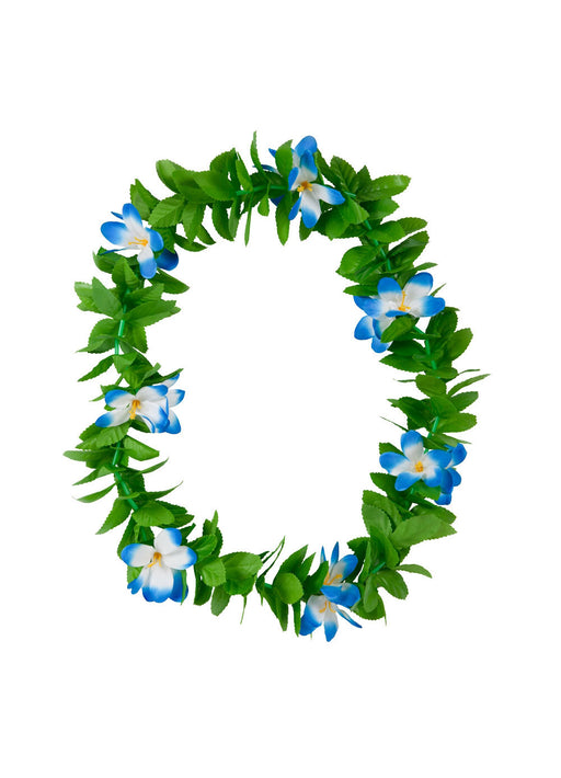 Green & Blue Hawaiian Leis
