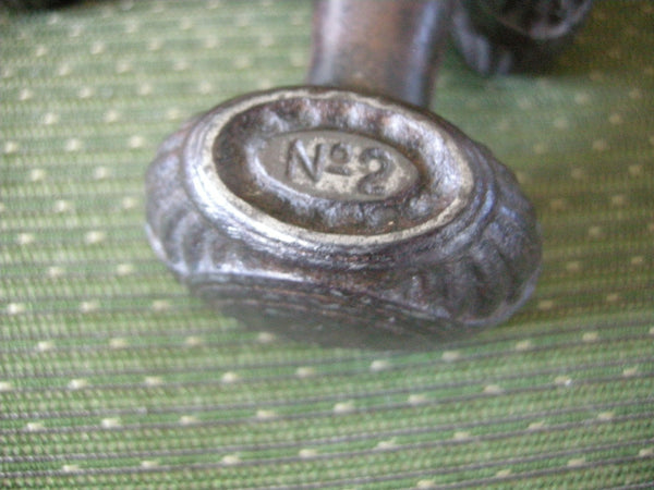 Pair of decorative and functional dumbells