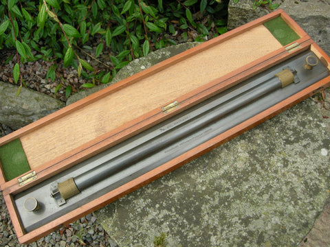 EXCELLENT CASED W H HARLING LONDON 2 FT ROLLING RULE