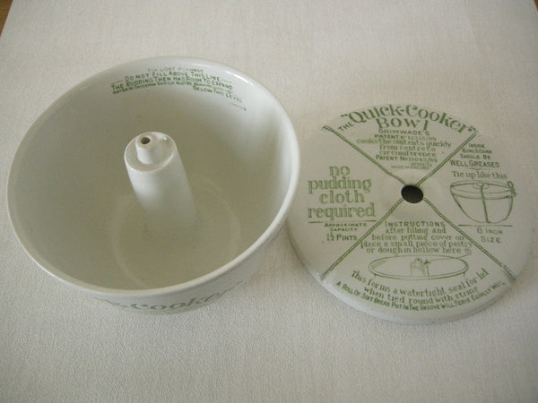 Original vintage Grimwades ceramic QUICK COOKER BOWL in VG condition