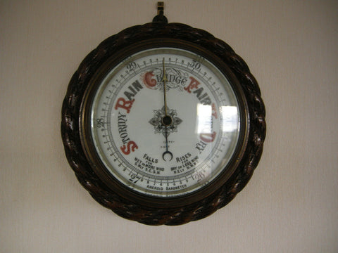Early 20th century Dover made aneroid barometer