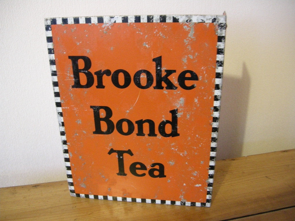 VINTAGE BROOKE BOND TEA SIGN