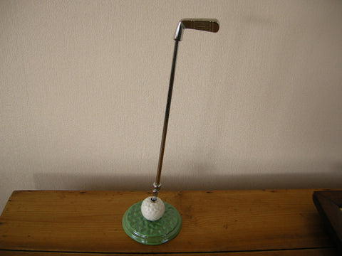 1930-40s golf club poker and golf ball stand