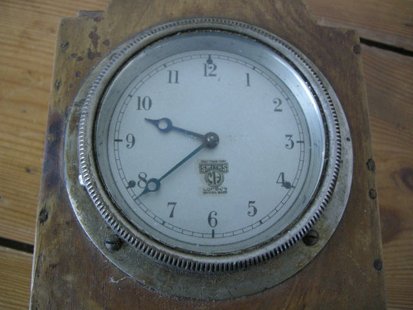 1920-30s SMITHS MECHANICAL CAR DASHBOARD CLOCK