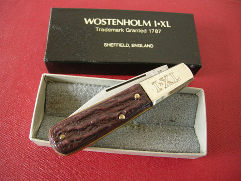 As new boxed WOSTENHOLM I*XL pen/pocket knife