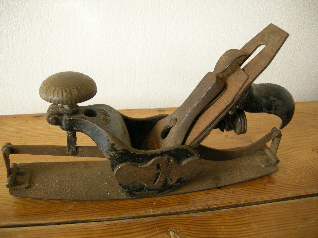 STANLEY RULE & LEVEL CO. No. 113 circular/compass plane