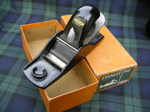 BOXED AS NEW STANLEY 102 BLOCK PLANE