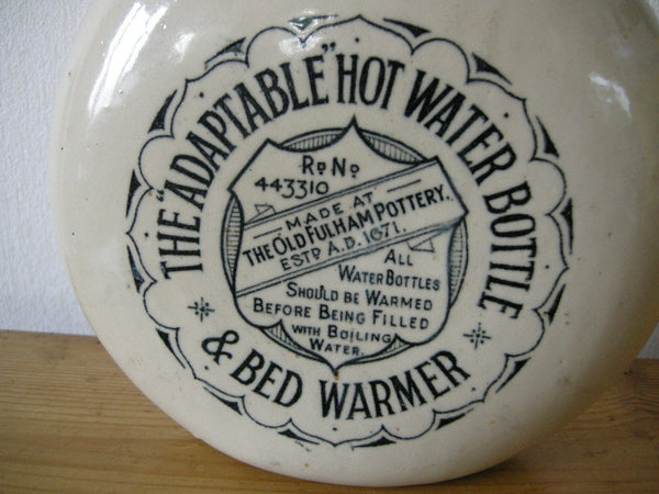 THE ADAPTABLE HOT WATER BOTTLE AND BED WARMER