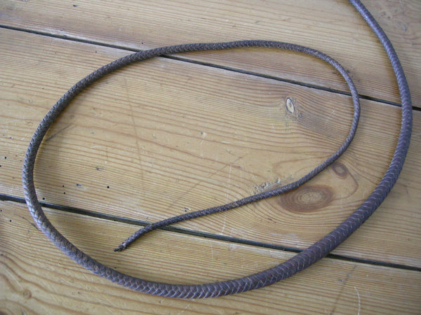 Victorian hunting whip dated 1898