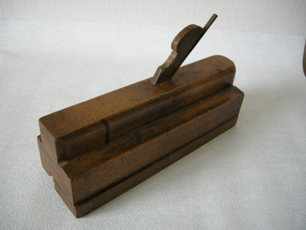Special purpose Victorian moulding plane used in window making by Alexr. Marshall GLASGOW