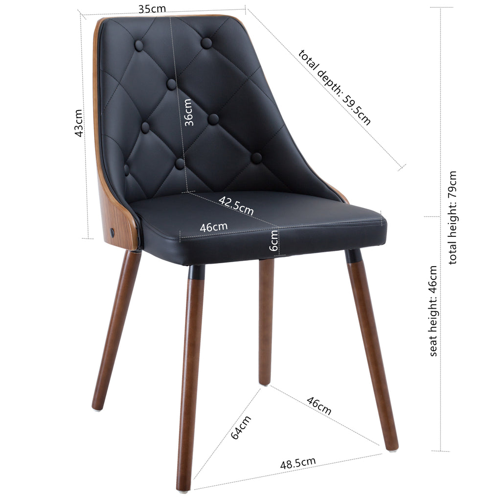 best sneakers 986ad 1d66a Yvonne Dining Chair - Genuine Leather