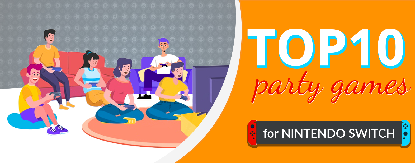 Top 10 Party Games for Nintendo Switch