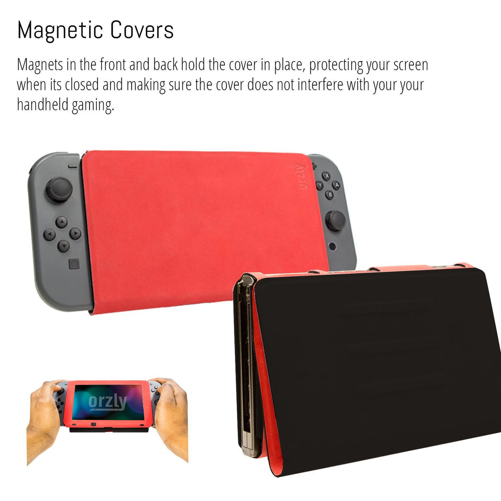 Orzly Screen Cover Stand for Nintendo Switch - Orzly