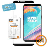 OnePlus 5T Pro-Fit Tempered Glass Screen Protector - QUAD PACK