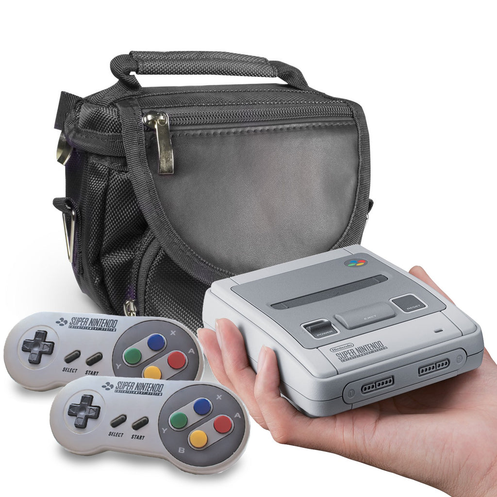SNES MINI Classic Edition Travel Bag - Orzly