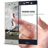 Pro-Fit Tempered Glass Screen Protector for Xperia XZ - Orzly