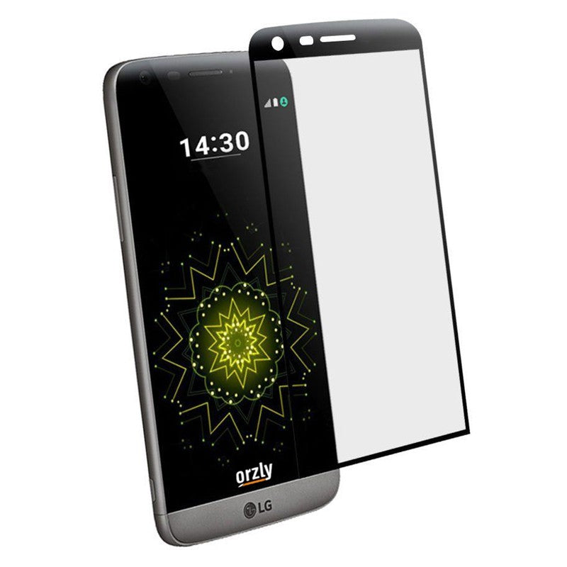 Orzly 3D Pro-Fit Glass Screen Protector for LG G5 Titan - Orzly