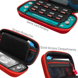 Carry Case for Nintendo Switch Lite - Orzly
