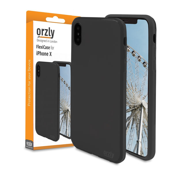 Orzly FlexiCase for iPhone X - Orzly
