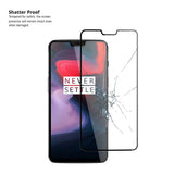 Pro-Fit Tempered Glass Screen Protector For OnePlus 6 - QUAD PACK - Orzly