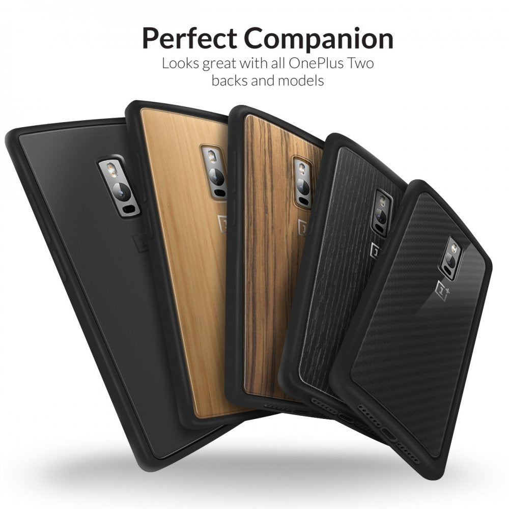Fusion Bumper Case for Oneplus 2 - Orzly