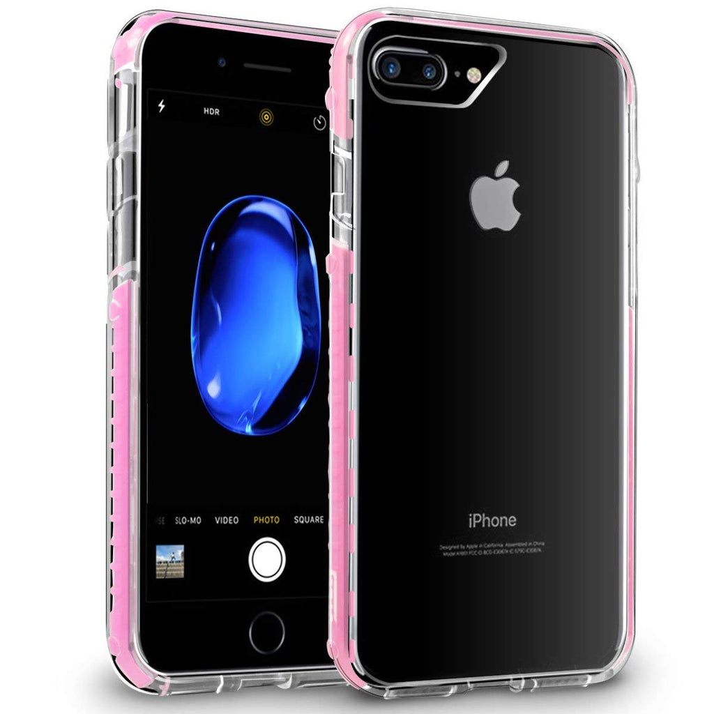 Fusion Bumper Case for iPhone 7 Plus & 8 Plus - Orzly