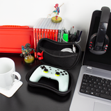 Stadia Essentials Pack: Controller Case, Phone Mount, Earphones, Mini Cable, & USB-C Cable - Orzly