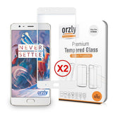 Tempered Glass Screen Protector for OnePlus 3 / 3T - Orzly
