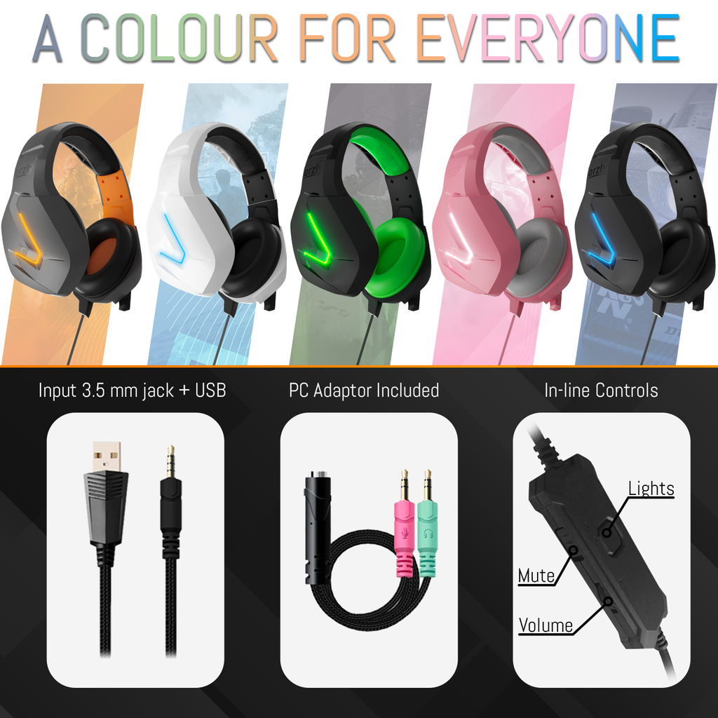RXH-20 Gaming Headset - Nakuru - Orzly