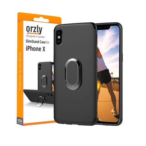 Orzly Slim Stand Case for iPhone X