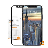 Orzly Pro-Fit Tempered Glass Screen Protector for iPhone X