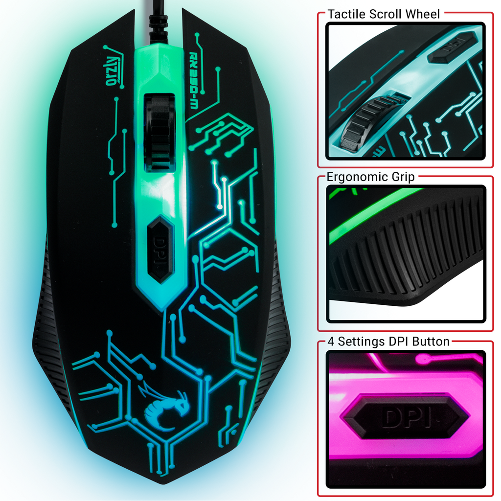 RX250-M Gaming Mouse - Orzly