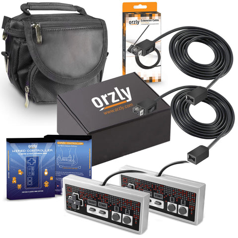Orzly Ultimate Pack for NES Classic Edition