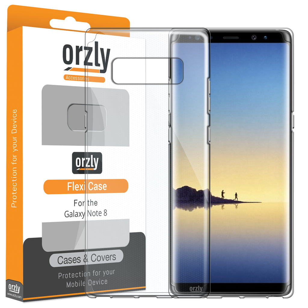 FlexiCase for Samsung Galaxy Note 8 - Orzly