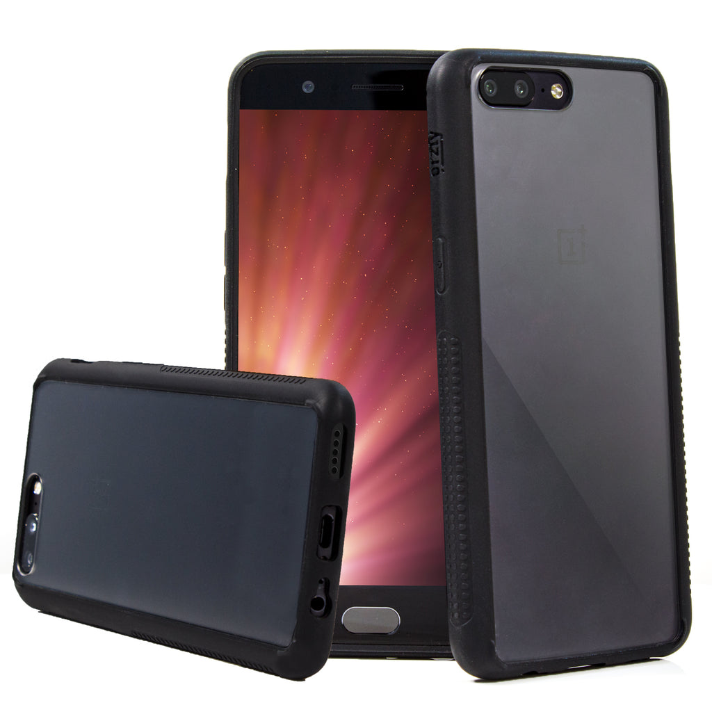 Fusion Bumper Case for OnePlus 5 - Orzly