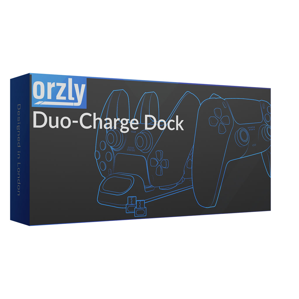 PlayStation 5 DualSense Controller Charging Dock | Duo-Charge Dock - Orzly