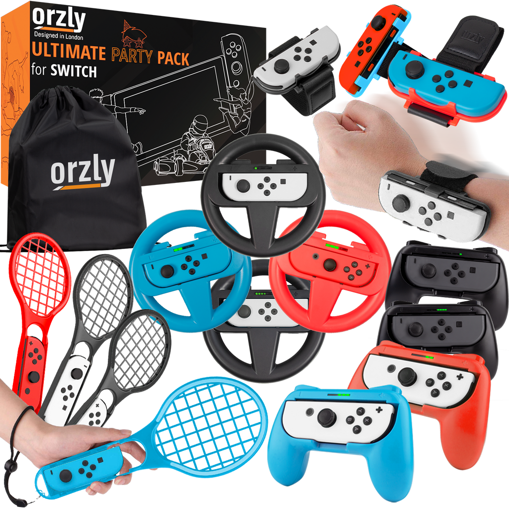 Ultimate Party Pack for Nintendo Switch - Orzly